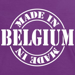 made_in_belgium_m1 T-Shirts - Frauen Kontrast-T-Shirt