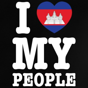 I Heart (Love) My Khmer People Shirts - Baby T-Shirt