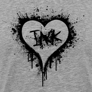 I Love Ink black T-Shirts - Men's Premium T-Shirt