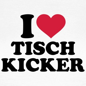 I love Tischkicker T-Shirts - Frauen T-Shirt