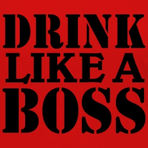 Drink like a Boss Tee shirts manches longues - T-shirt manches longues Premium Femme