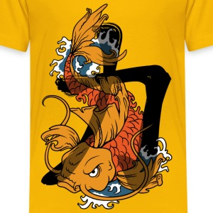 Koi Strength Shirts - Kids' Premium T-Shirt