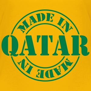 made_in_qatar_m1 T-Shirts - Kinder Premium T-Shirt