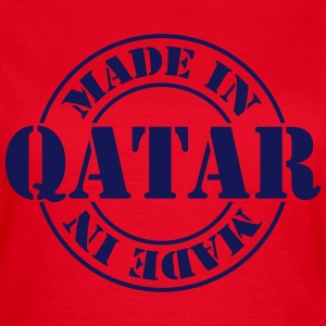 made_in_qatar_m1 T-Shirts - Frauen T-Shirt