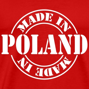 made_in_poland_m1 T-Shirts - Männer Premium T-Shirt