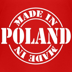made_in_poland_m1 Camisetas - Camiseta premium niño