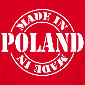 made_in_poland_m1 T-shirts - T-shirt herr