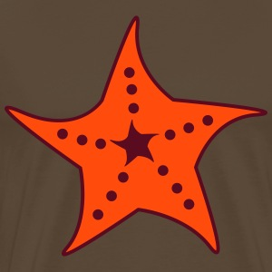 Starfish (a)  T-Shirts - Men's Premium T-Shirt