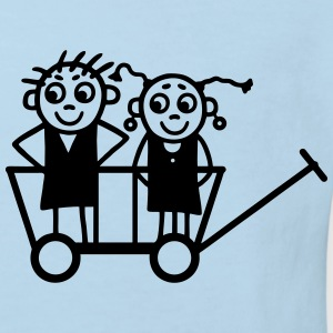 Children in carts Shirts - Kids' Organic T-shirt