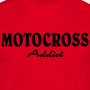 Motocross Addict T-shirts - Herre-T-shirt
