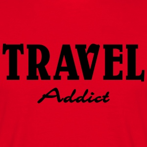 Travel Addict Tee shirts - T-shirt Homme