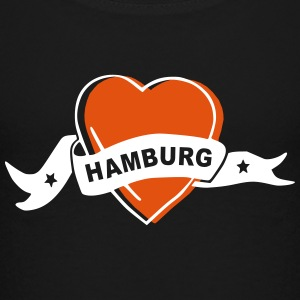i love hamburg - Teenager Premium T-Shirt