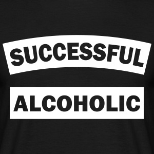 SUCCESSFUL ALCOHOLIC - T-shirt Homme