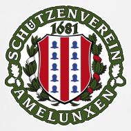 Motiv ~ Schützenverein Schürze Weiss
