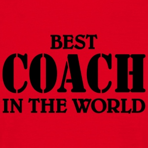 Best Coach in the World T-shirts - Mannen T-shirt