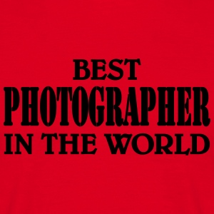 Best Photographer in the World T-shirts - T-shirt herr