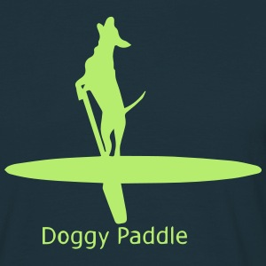Doggy Paddle - SUP Boarding - Men's T-Shirt