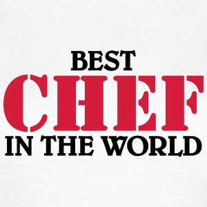 Best Chef in the World T-shirts - T-shirt dam