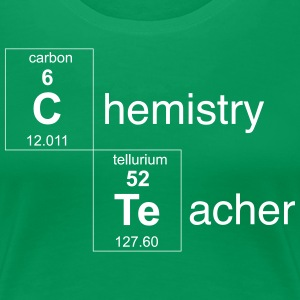 Chemistry Teacher Periodic Elements T-Shirts - Women's Premium T-Shirt