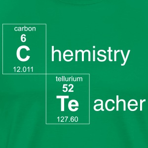 Chemistry Teacher Periodic Elements T-Shirts - Men's Premium T-Shirt