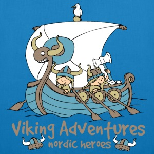 Viking Adventures - Nordic Heroes - EarthPositive Tote Bag