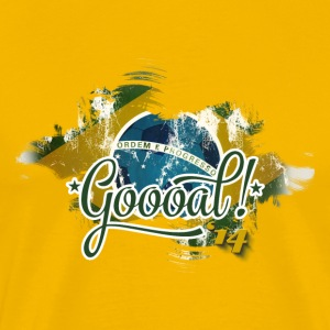 Football - GOOAL ! '14 - T-shirt Premium Homme