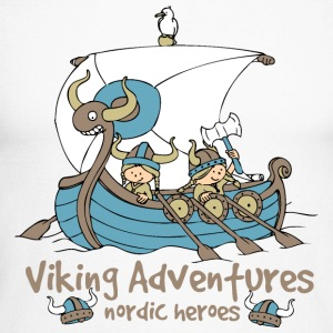 Viking Adventures - Nordic Heroes - Men's Long Sleeve Baseball T-Shirt