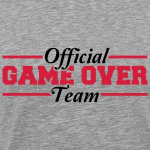Officiële spel Over Team T-shirts - Mannen Premium T-shirt