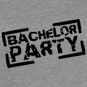 Bachelor Party Team Stempel Design T-Shirts - Women's Premium T-Shirt