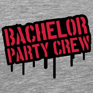 Bachelor Party Crew Stempel T-Shirts - Men's Premium T-Shirt