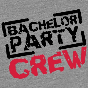 Bachelor Party Crew Stempel Design T-Shirts - Women's Premium T-Shirt