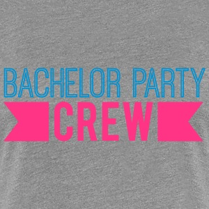 Bachelor Party Crew Logo Design T-Shirts - Women's Premium T-Shirt