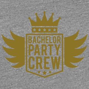 Bachelor crew wings Crown banner T-Shirts - Women's Premium T-Shirt