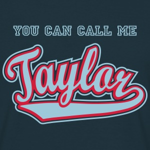 Taylor - T-shirt personalised with your name T-Shirts - Men's T-Shirt