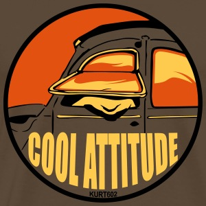 Noble brown Cool Attitude T-Shirts - Men's Premium T-Shirt