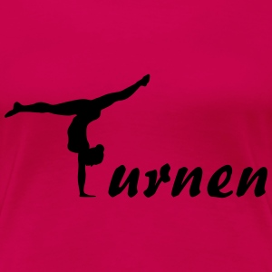 Turnen, gymnastik T-Shirts - Frauen Premium T-Shirt