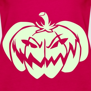 Pink Evil Pumpkin Tops - Women's Premium Tank Top