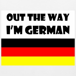 Out the way. i'm German - Men's Premium Tank Top
