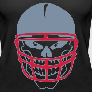 Schwarz THE FOOTBALL SKULL by VAN TRIBE Girlie - Frauen Premium Tank Top