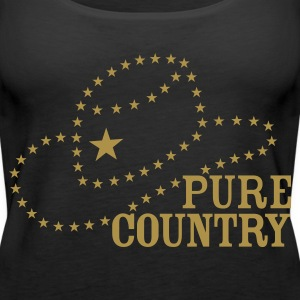 PURE COUNTRY - Frauen Premium Tank Top