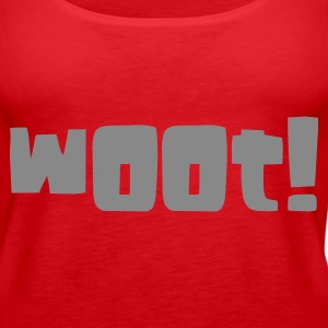 wOOt! - Women's Premium Tank Top