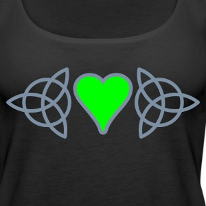Celtic Claddagh - Women's Premium Tank Top