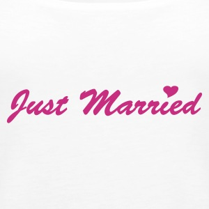 Just Married Tops - Frauen Premium Tank Top
