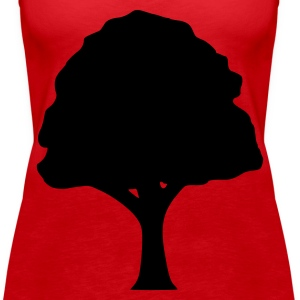 Red Tree Tops - Women's Premium Tank Top