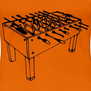 Orange Kicker Damtröja - Premium-T-shirt dam