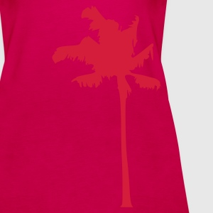 Rosa Palm Topper - Premium singlet for kvinner