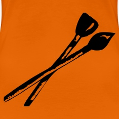 Orange Brush Ladies'
