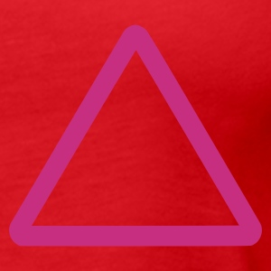 Red triangle Ladies' - Women's Premium Tank Top