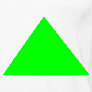 White triangle Ladies' - Women's Premium Tank Top