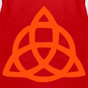 Red Celtic Knot Ladies' - Women's Premium Tank Top